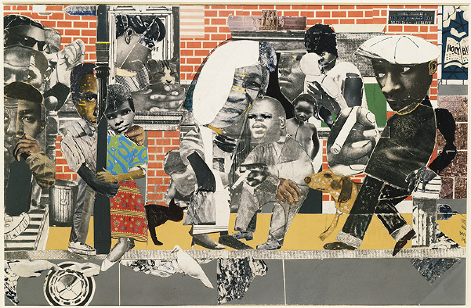 in collection romare bearden africanahorg
