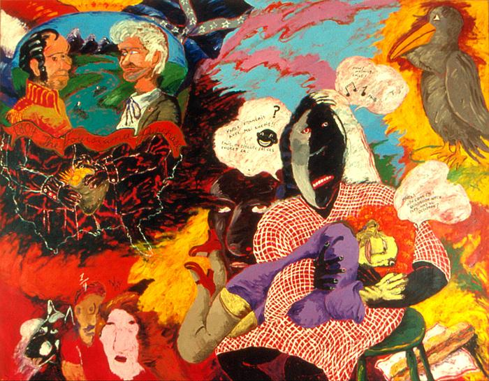 In Collection Robert Colescott Africanah Org