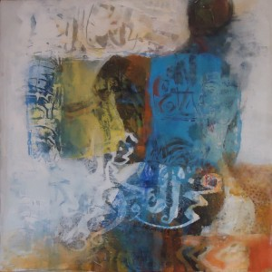 AfricanahHusseinPainting 24, Acrylic, by Hussein Halfawi