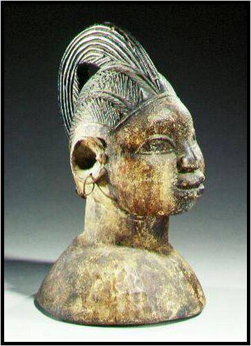 #3 egungun masker Afrika Museum