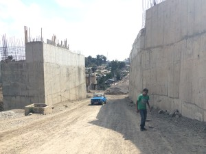 Addis Ababa under construction