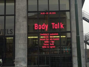 WIELS 'Body Talk' 2015