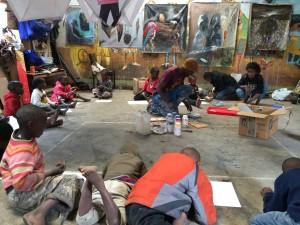 Kids Club at Wanjukuu Art Centre