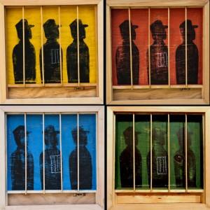AfricanahJackieKaruti_BarsAndWindows_26x26cm each_Acrylics & pastels on wood_2015 (2)