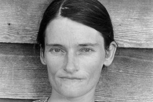 AgeeAllie Mae Burroughs, wife of cotton sharecropper, Hale Country, Alabama, 1936. Courtesy Library of Congress