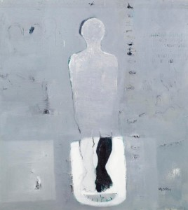 BBDImage 18_YeMariam Menged I, (One is enough to stand) oil on canvas - 140 x 135