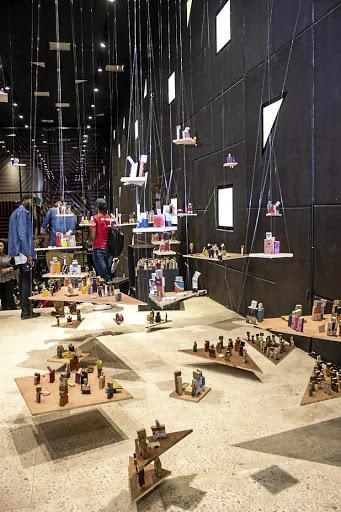 Alara LagosWe won't wait Installation by Abdulrazaq AwofesoCourtesy the artist and Alara, Lagos.