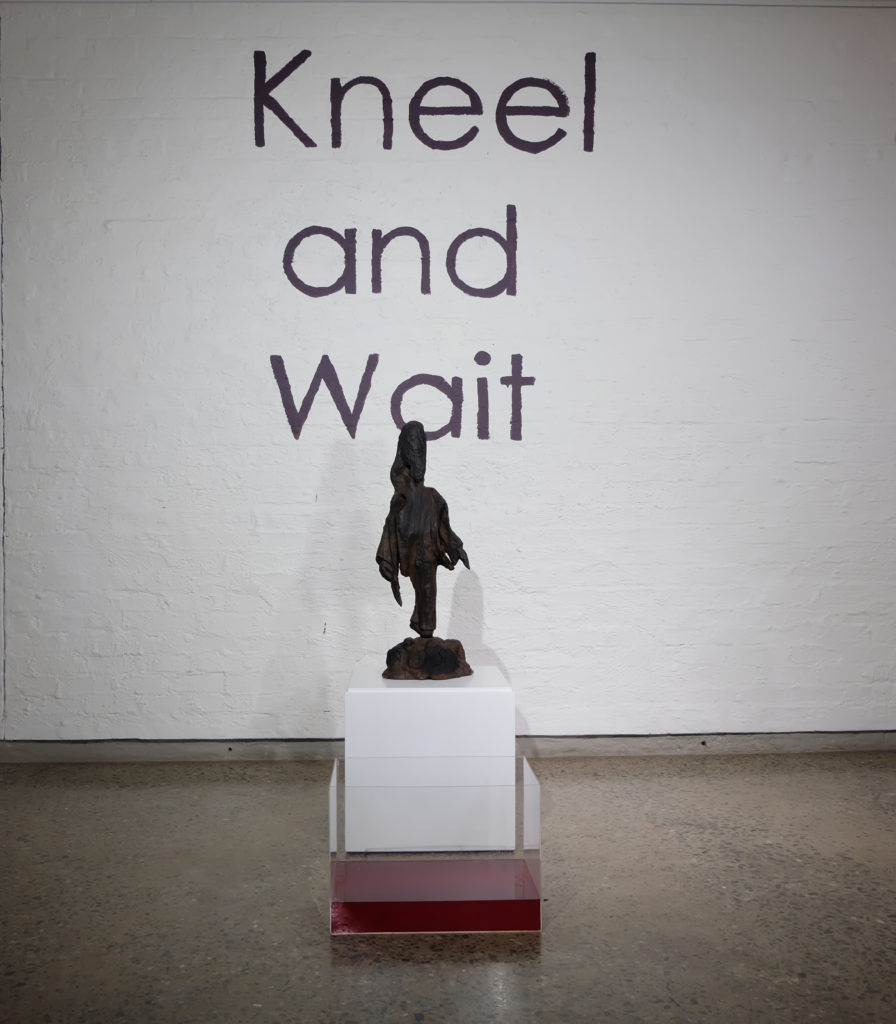 lihlanMatshelane Xhakaza, Kneel and Wait, 2017