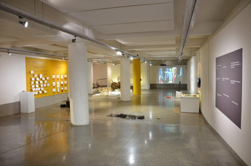 lihlanOvertime, installation shot, Wits Art Museum, Johannesburg