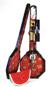 SoulSambo's Banjo by Betye Saar 1971-1972