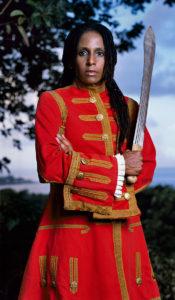 ReneeRenée Cox, Redcoat, from Queen Nanny of the Maroons series, 2004. Courtesy
