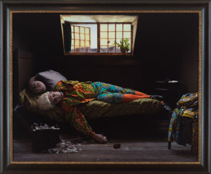 Fake Death Picture by Yinka Shonibare