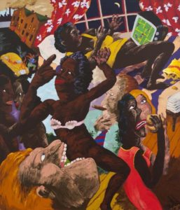 Colescott_Pac_Man_The_Consumers_Consumed1988