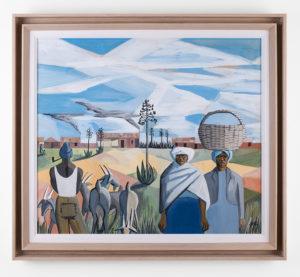 PeterClarkeAfrican-Pastoral_1960_Gouache-on-Paper_45-x-52-cm_LR