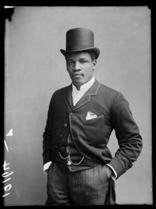 BChroniclesPeter Jackson. London, 1889. By London Stereoscopic Company. © Hulton ArchiveGetty Images. Courtesy of Hulton Archive, and Autograph ABP, London.