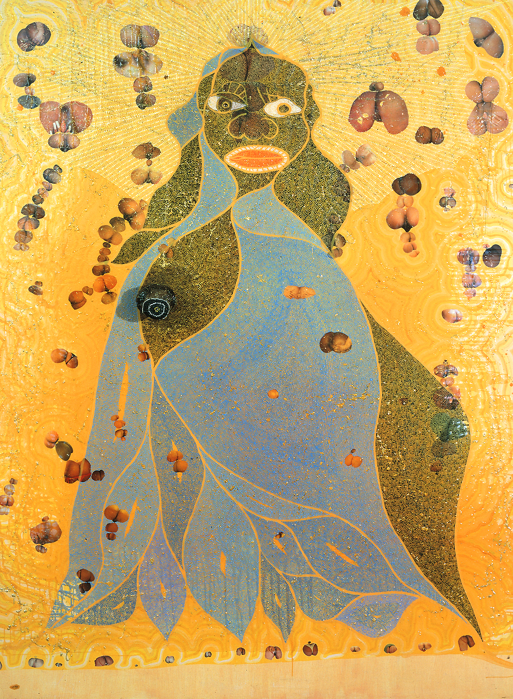 The Success Of Chris Ofili - Africanahorg-2487