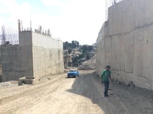 Addis Ababa under construction