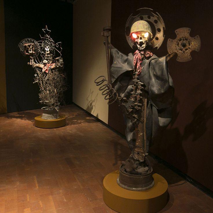 AEInstallationView Vodou Sculpture