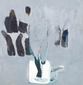 BBDImage 19 YeMaryam Menged II (one is enough to stand) oil on canvas - 140 x 135