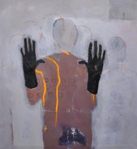 BBDImage 20 Pretender 1 140x140cm 2014 oil on canvas