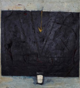 BBDImage 4, Picture D, Milk Darkness I, 120 x 130 cm, oil on canvas, 2012