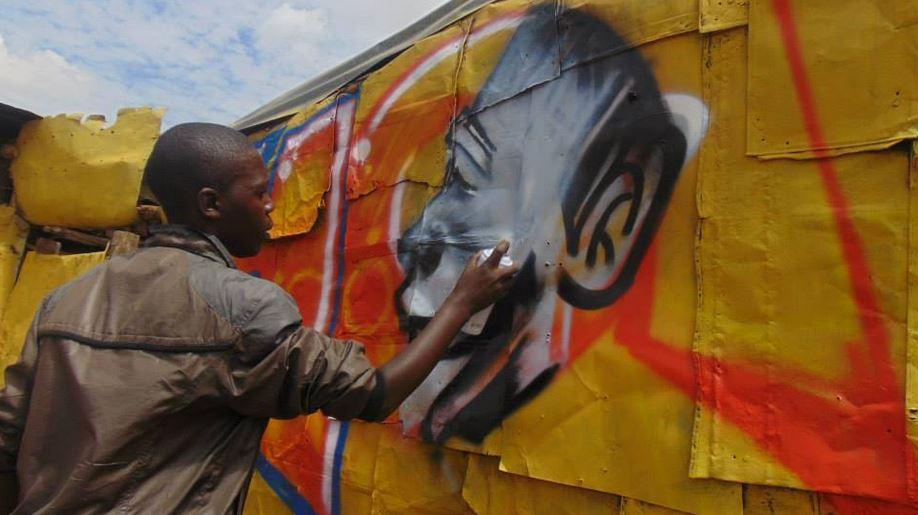 CraigHRI 'Talking Walls' project transforming Korogocho. Photos courtesy of Hope Raisers Initiative 2 (2)