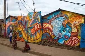 CraigHRI 'Talking Walls' project transforming Korogocho. Photos courtesy of Hope Raisers Initiative 3 (2)