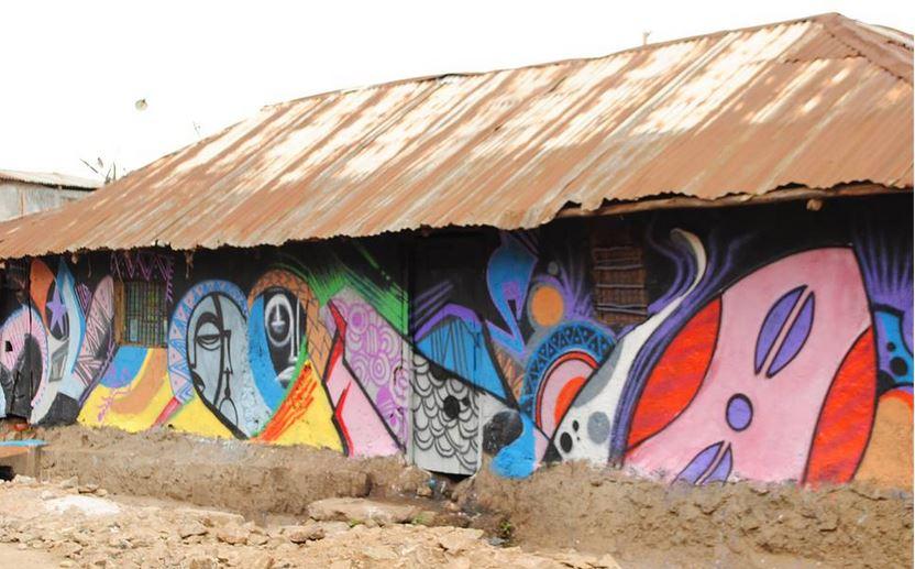 CraigHRI 'Talking Walls' project transforming Korogocho. Photos courtesy of Hope Raisers Initiative 5 (2)