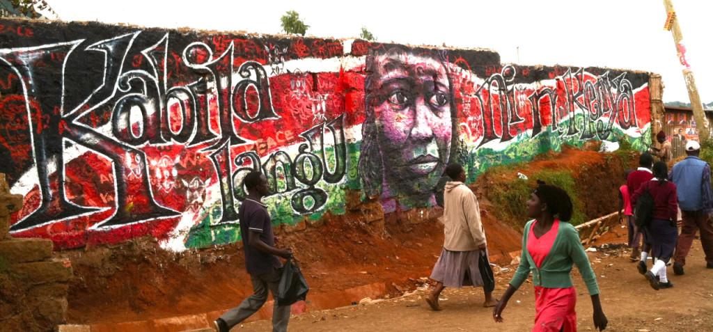 CraigKibera Walls for Peace - My Tribe is Kenya (2)