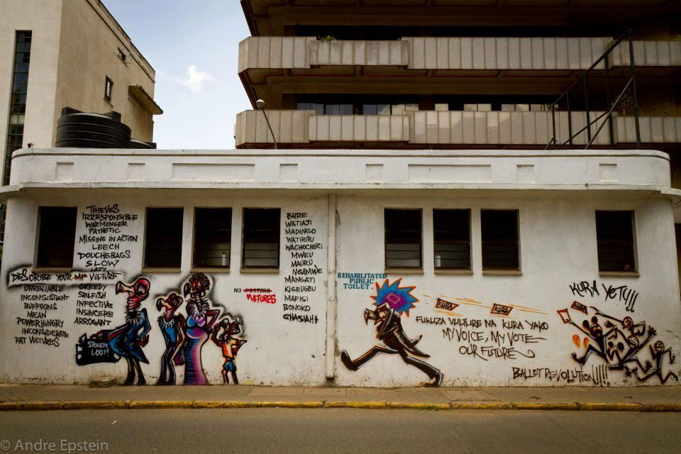 CraigMaVulture' campaign by PAWA 254 and local graffiti artists 1-1 (2)
