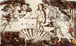 Vik Muniz The Birth of Venus
