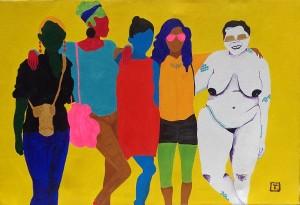 TessaMarsSelf-portrait-with-New-Friends2015