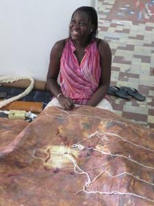 MaliMassira Touré at Art Space 'Badialan 1' Bamako