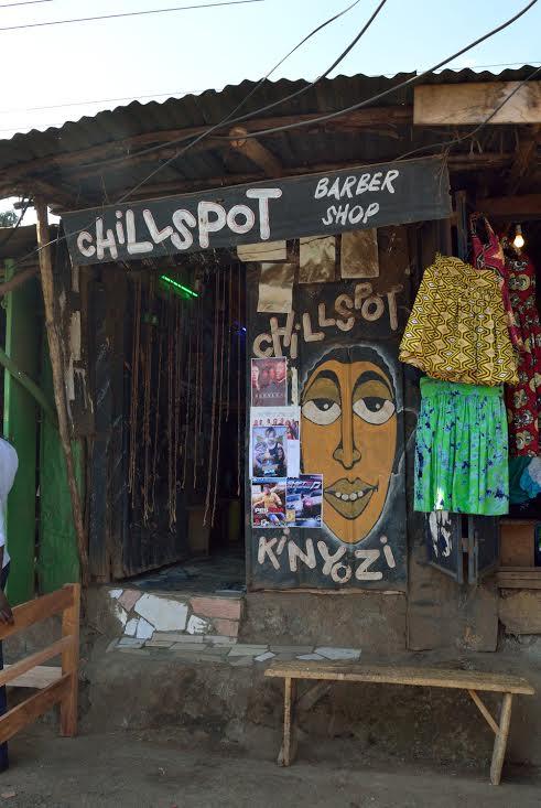 Craig1SignPainting in Kibera