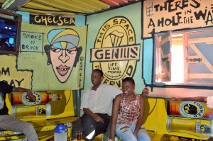 Craig2Sign painting in Kibera