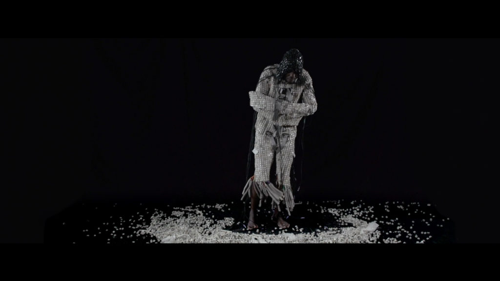 ThuliMaurice Mbikayi Web Jacket (film still) 2015, 9 min Courtesy of the artist and Officine dell'Immagine