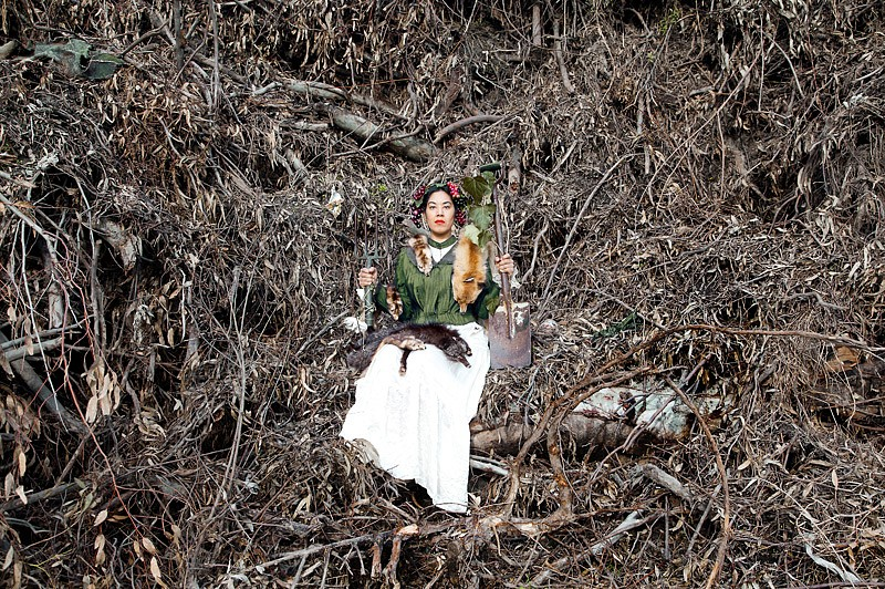 PetersenQUEEN COLONAAIERS AND HER WEAPONS OF MASS DESTRUCTION 1 2015, PHOTOGRAPHIC PRINT