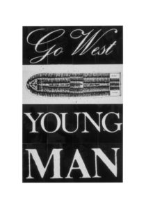 Go West Young Man 1987 by Keith Piper born 1960