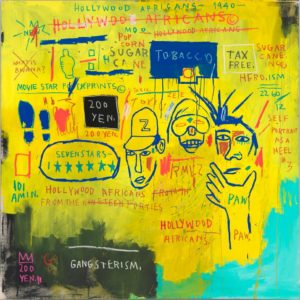 BOOM Jean-Michel Basquiat, Hollywood Africans, 1983, Whitney Museum of American Art, ARS, New York, ADAGP, Paris_preview