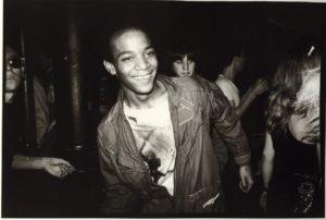 BOOM Jean dancing at the Mudd Club with painted t-shirt, 1979 Courtesy Nicholas Taylor_preview
