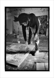 BOOMJean-Michel Basquiat painting, 1983, Photo copyright Roland Hagenberg_preview