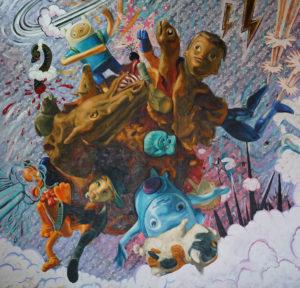 Machado, Miguel_Beyond Toys Storys 4_2017_Acrilic and oil on canvas_200cmx200cm