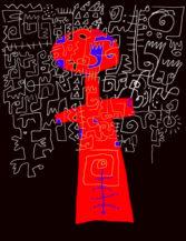 VictorEkpikBlues-Singer-digital-drawing