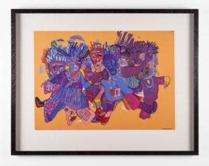 LionelDavisWorkingClassSolidarityfrom-the-Masquerade-series_2009_Mixed-Media-on-Paper_69.5-x-88.5-cm_LR