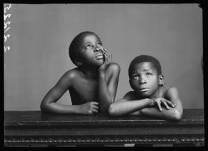 BChromiclesAlbert Jonas and John Xiniwe, The African Choir. London, 1891. By London Stereoscopic Company. © Hulton ArchiveGetty Images. Courtesy of Hulton Archive, and Autograph ABP, London.