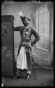 BChroniclesJaswantsinghji Fatehsinghji. London, 1887. By the London Stereoscopic Company. Courtesy of © Hulton ArchiveGetty Images, and Autograph ABP