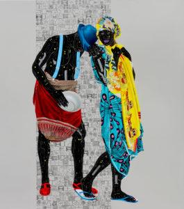 Fragile 2_small sRGB_170cm x 150cm, Acrylic and oil on canvas, 2018
