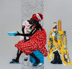 Fragile 4_sRGB_187 x 198cm, Acrylic and oil on canvas, 2018