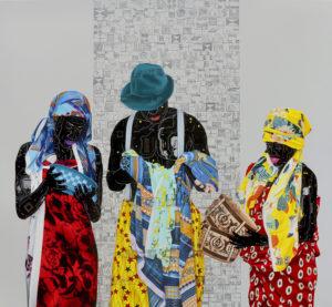 Fragile 6_adobeRGB_180cm x 196cm, Acrylic and oil on canvas, 2018
