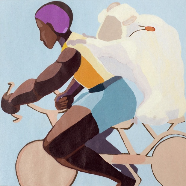nirit-takele-riding-with-a-sheep